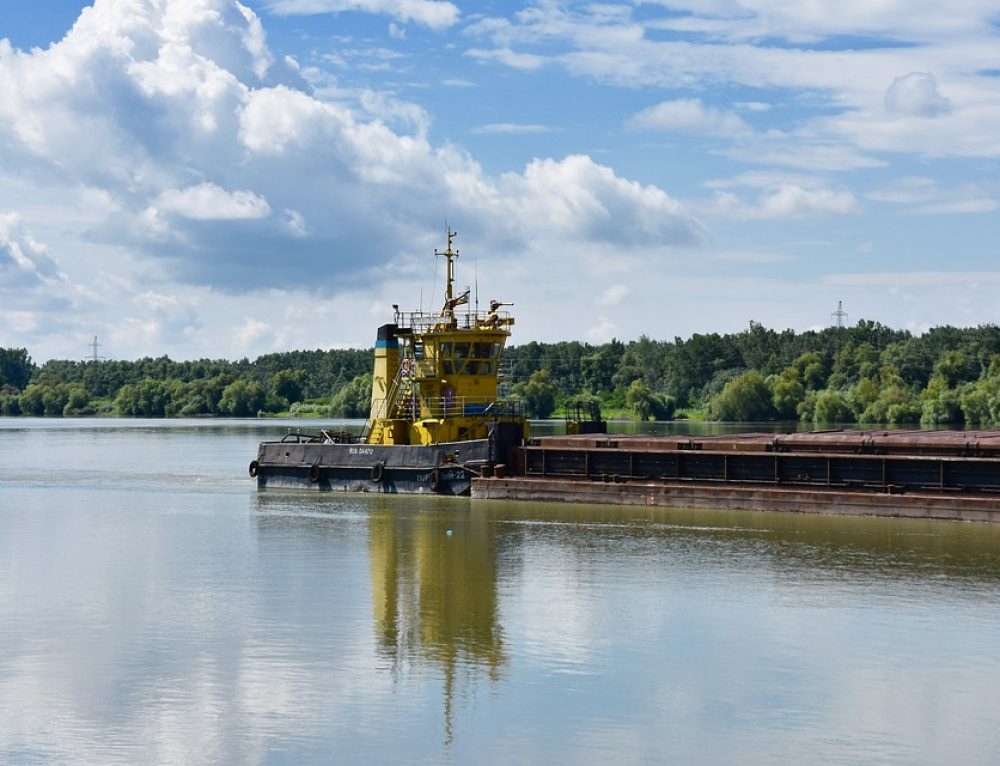 Suspension of shipping on the Danube river