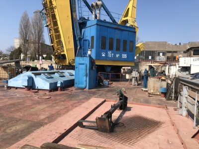 Non self propelled floating crane for sale